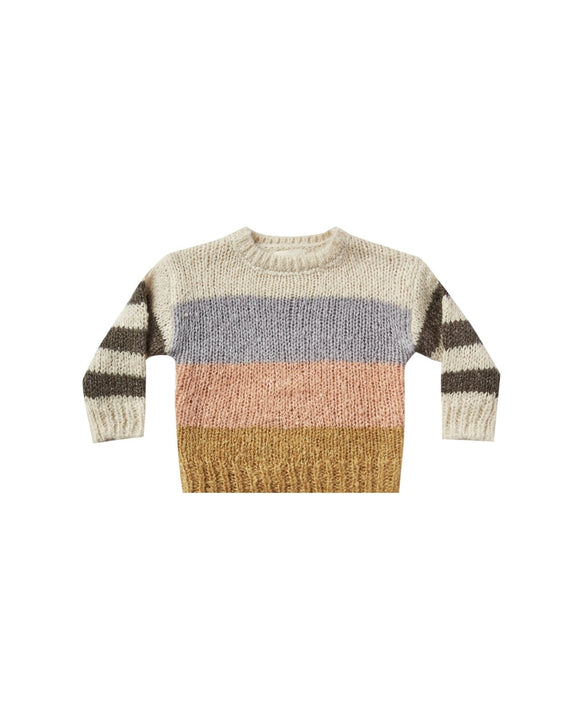 Rylee and Cru Stripe Aspen Sweater - Flying Ryno