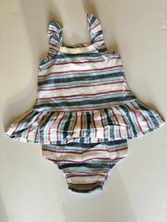 Splendid Baby Woven Stripe Dress - Flying Ryno