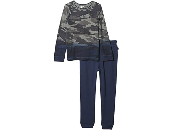 Splendid Dip Dye Camo Top and Sweatpants Set - Flying Ryno