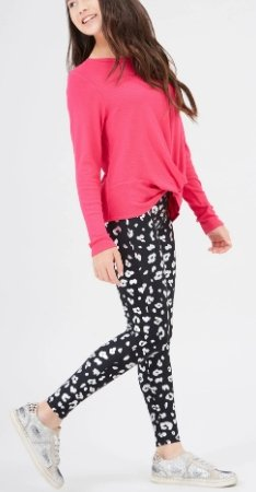 Terez Foil Printed Cheetah Leggings - Flying Ryno