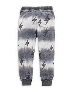Vintage Havana Burnout Pants with Lightning Bolt - Flying Ryno