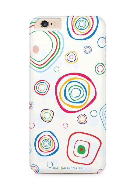 Abstract Colorful Circles Phone Case