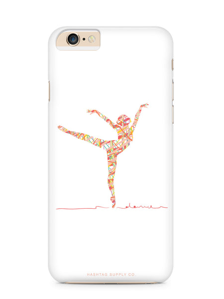 Abstract Dancer Phone Case