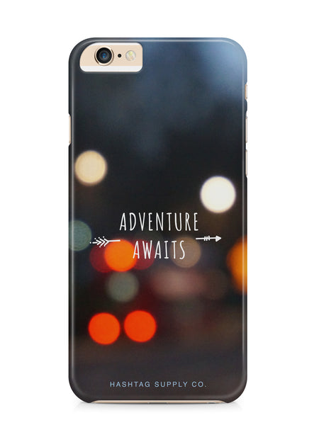 Adventure Awaits Quote Phone Case
