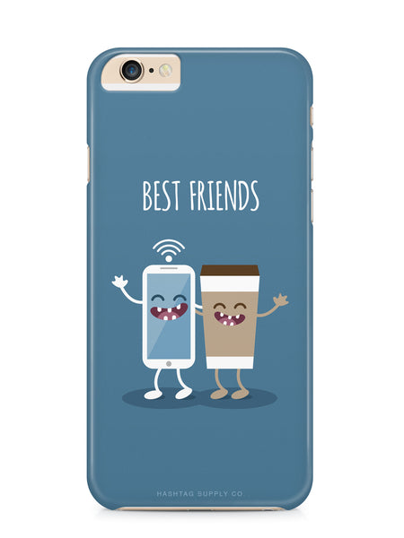 Best Friends Coffee & Phone Phone Case