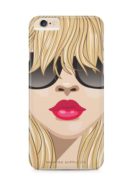 Blonde Diva Phone Case