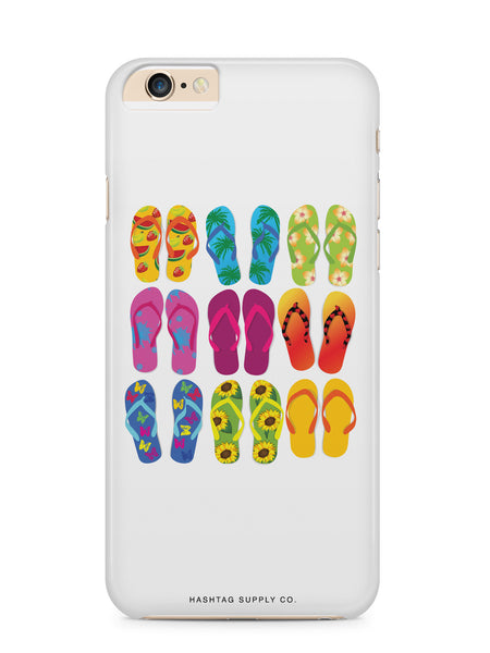 Colorful Flip Flops Phone Case