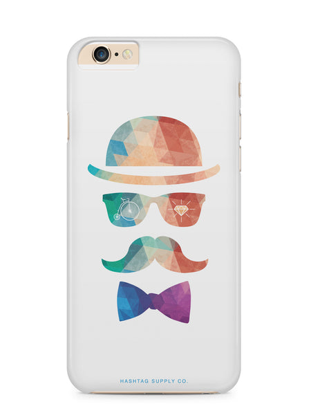 Colorful Hipster Face Phone Case