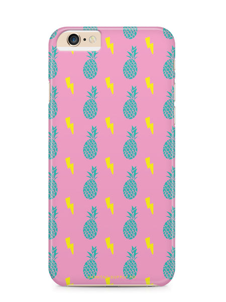 Electric Pineapples Pattern Phone Case