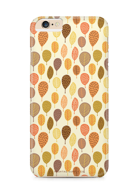 Fall Leaves Pattern Phone Case