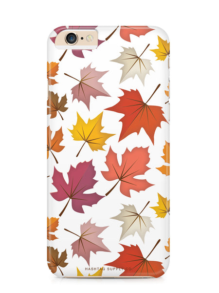 Falling Leaves Pattern Phone Case