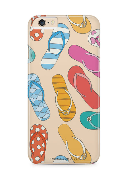 Flip Flop Pattern Phone Case