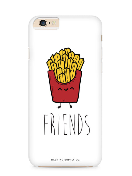 Best Friends Burger and Fries FRIENDS FRIES Phone Case