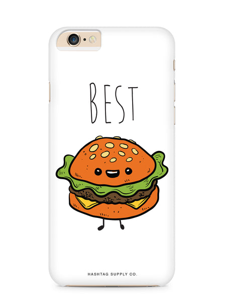 Best Burger from Best Friends Burger and Fries Phone Case
