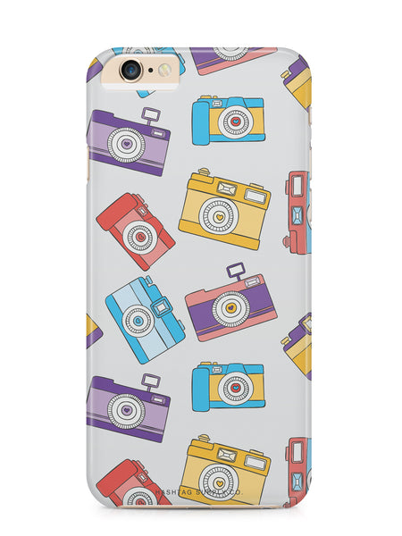 Hand Drawn Retro Camera Pattern 3 Phone Case