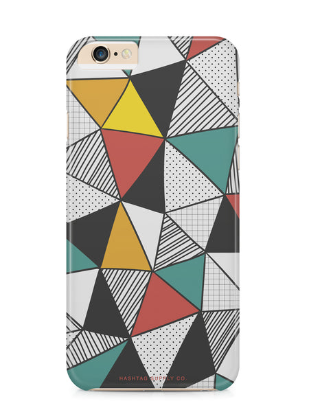 Hand Drawn Abstract Triangles Phone Case