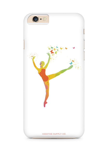 Colorful Hand Painted Dancer Phone Case