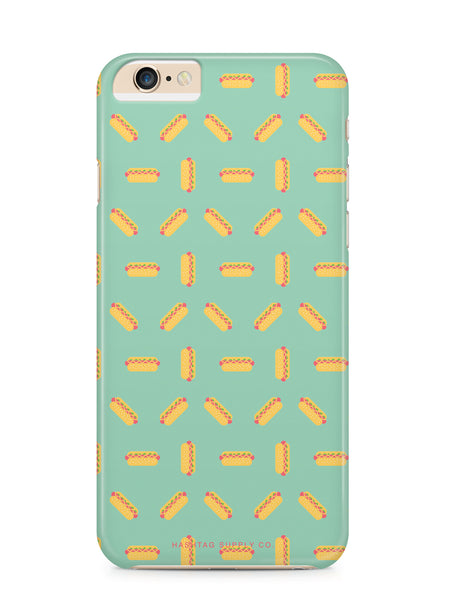Hot Dog Pattern Phone Case