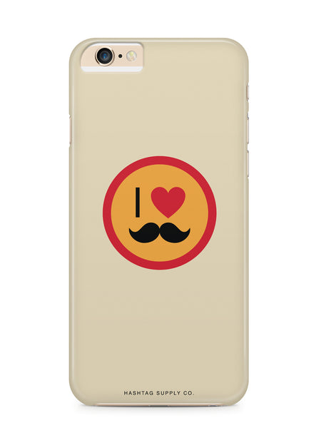 I Love Stache Phone Case