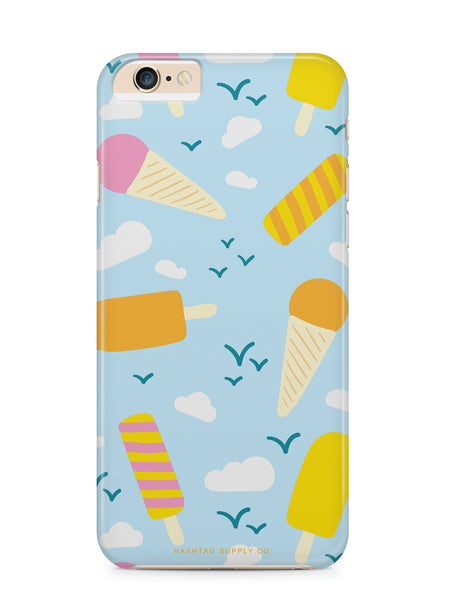 Ice Cream and Popsicles Pattern Phone Case