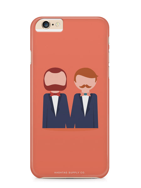 Love is Love Gay Couple Wedding Phone Case