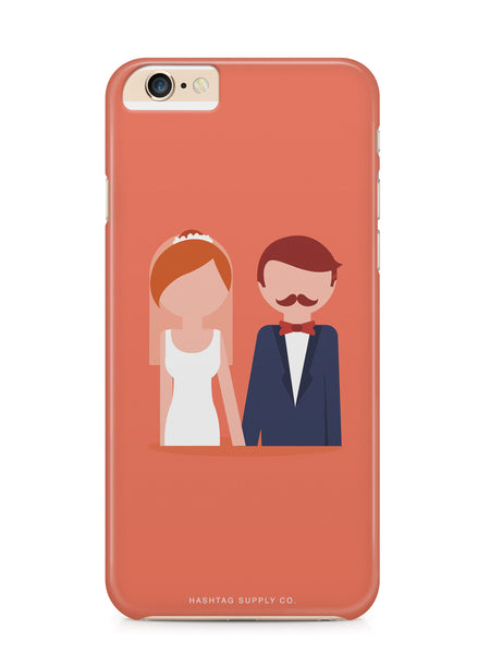 Love is Love Straight Couple Wedding iPhone 6 Case