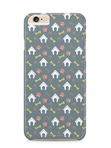 Dog House Pattern Phone Case