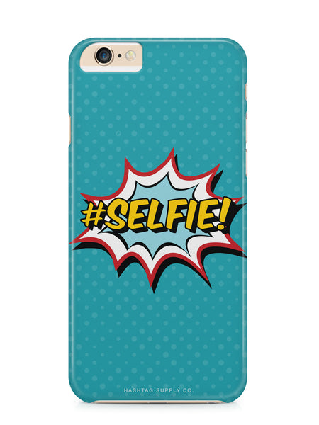 #Selfie Comic Phone Case