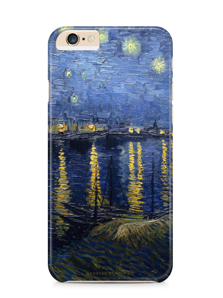 Starry Night Over The Rhone by Van Gogh Phone Case