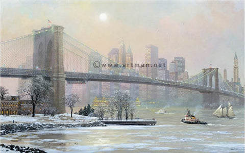 Alexander Chen - Brooklyn Bridge Camber - Winter