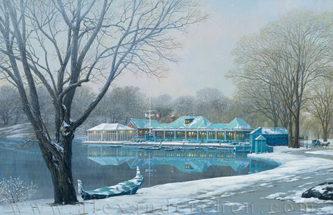 Alexander Chen - Central Park Boathouse