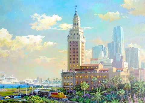 Alexander Chen - Freedom Tower & the Port of Miami
