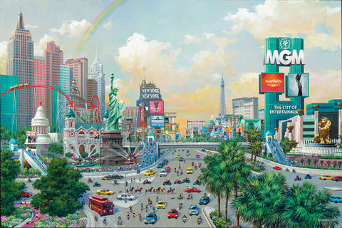 Alexander Chen - Las Vegas Afternoon - The Strip
