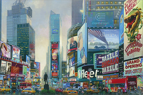 Times Square South- Alexander Chen