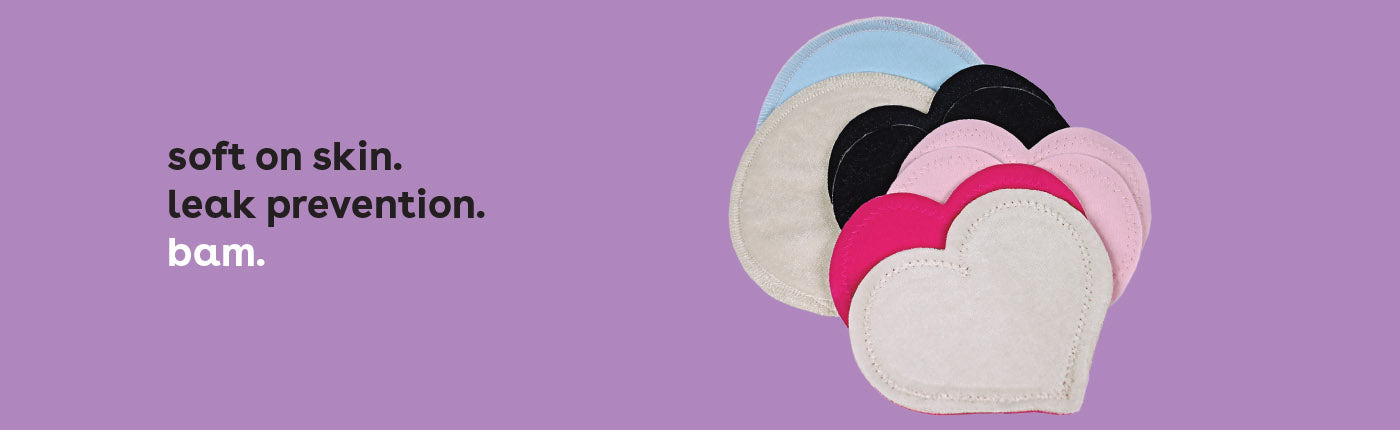 Washable & Disposable Nursing Pads | Bamboobies