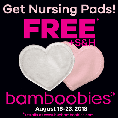 FREEBIES! FREE Washable Nursing Pads