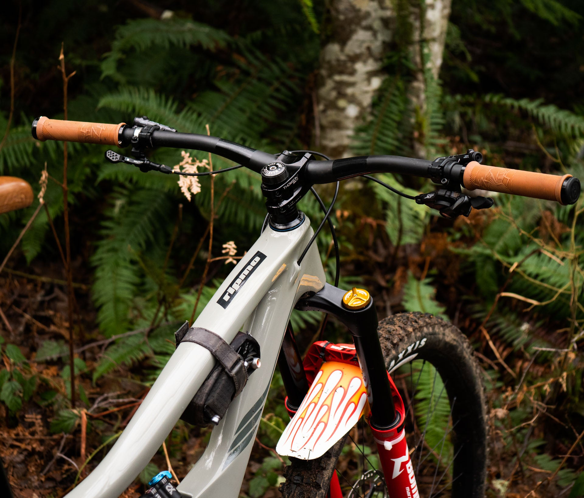A degree slacker head angle, now 64.9, and a few other tweaks make what was an amazing bike even better. The new Ibis Ripmo V2
