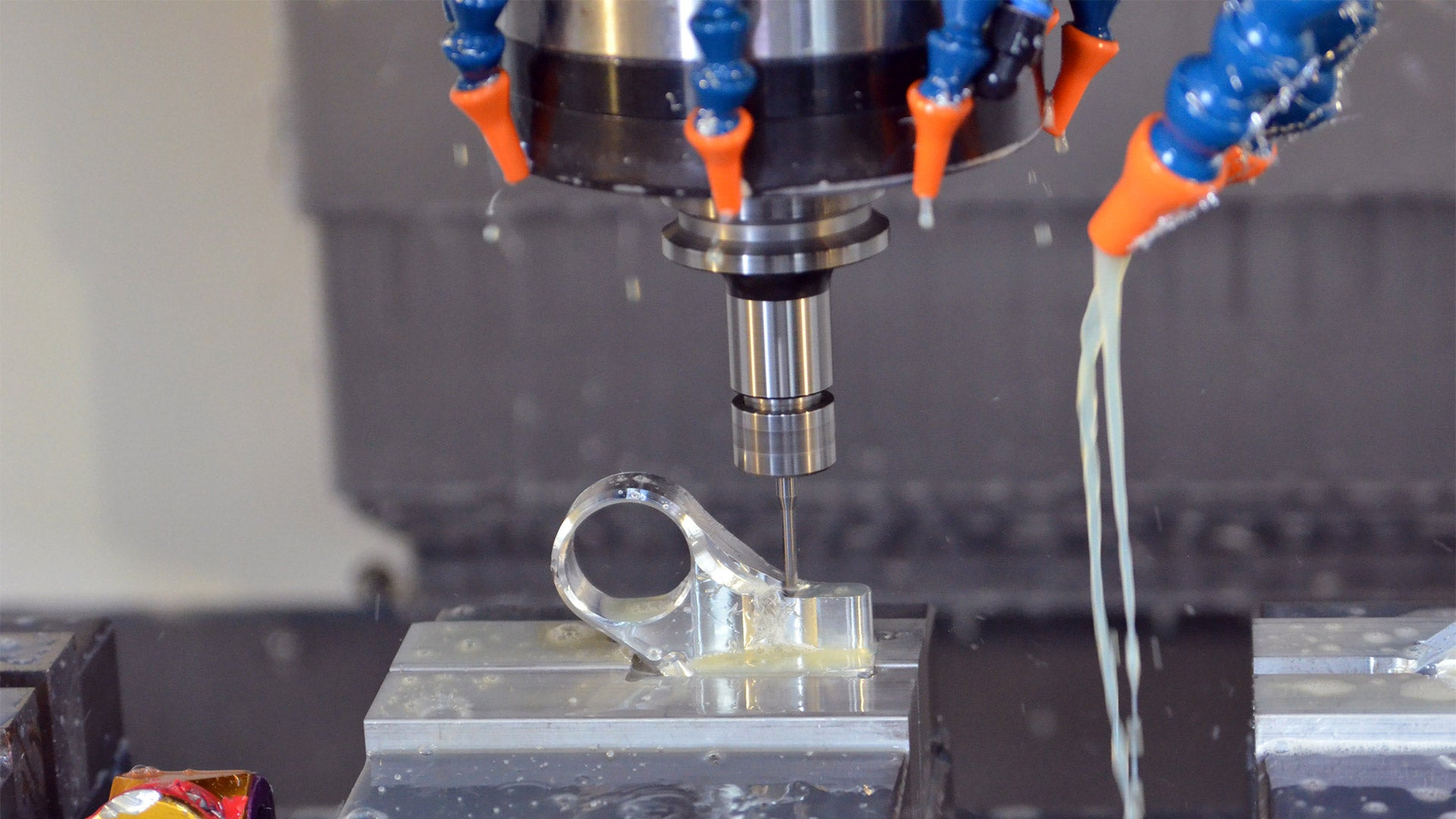 Machining a functional prototype for real world testing.