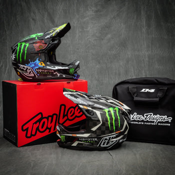 Monster Energy D4 Helmet