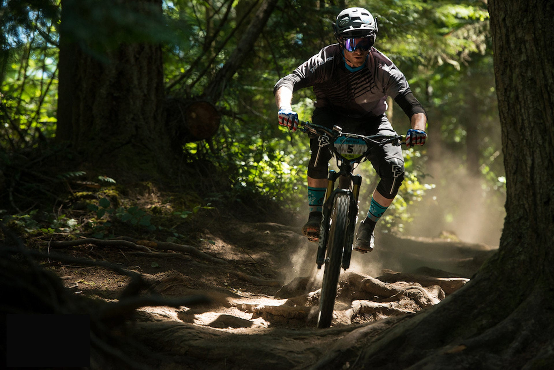 Darrin Riding at the Cascadia Enduro Nationals