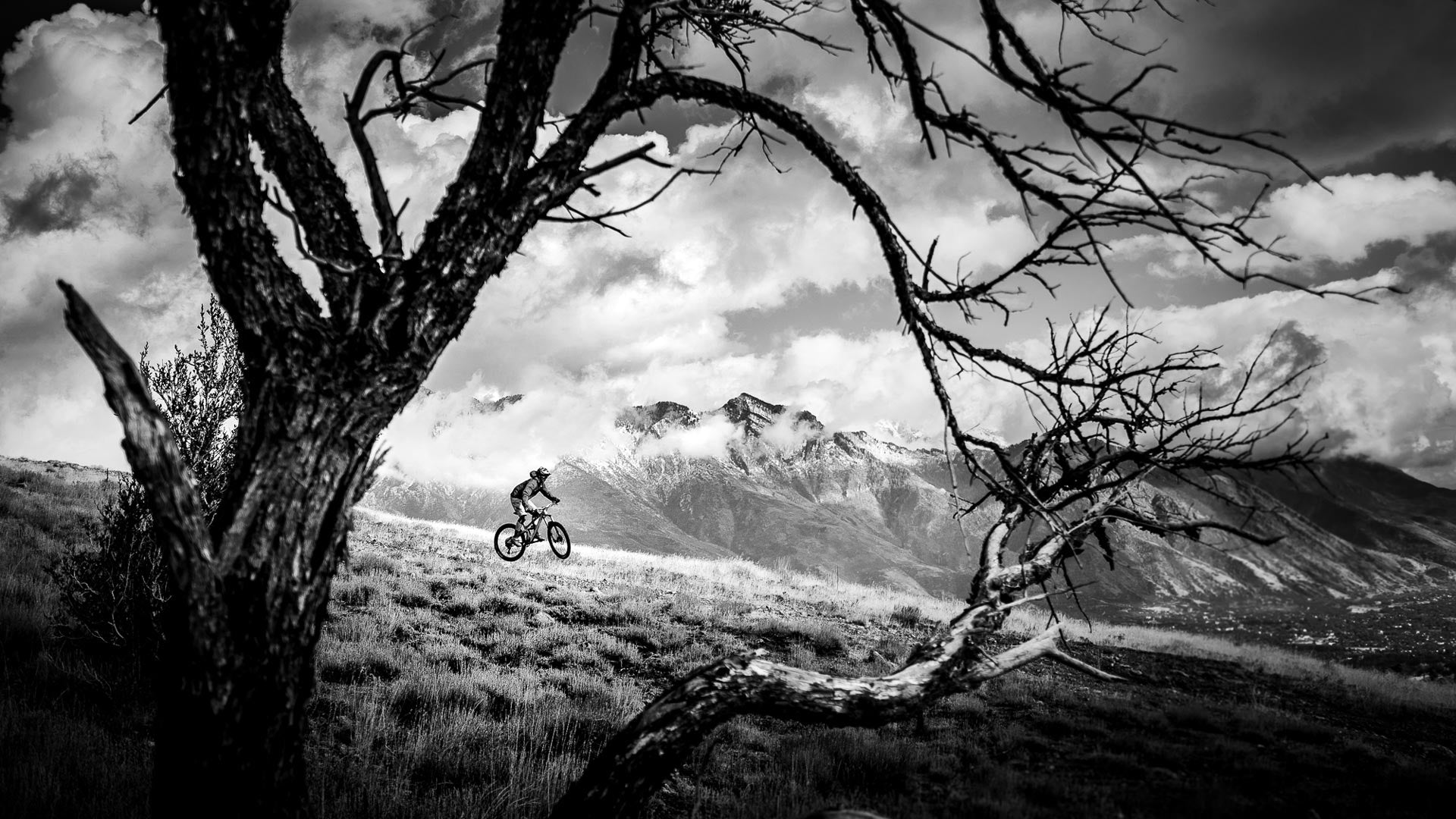 How to take great mountain bike photos - Step six: Change your perspective.