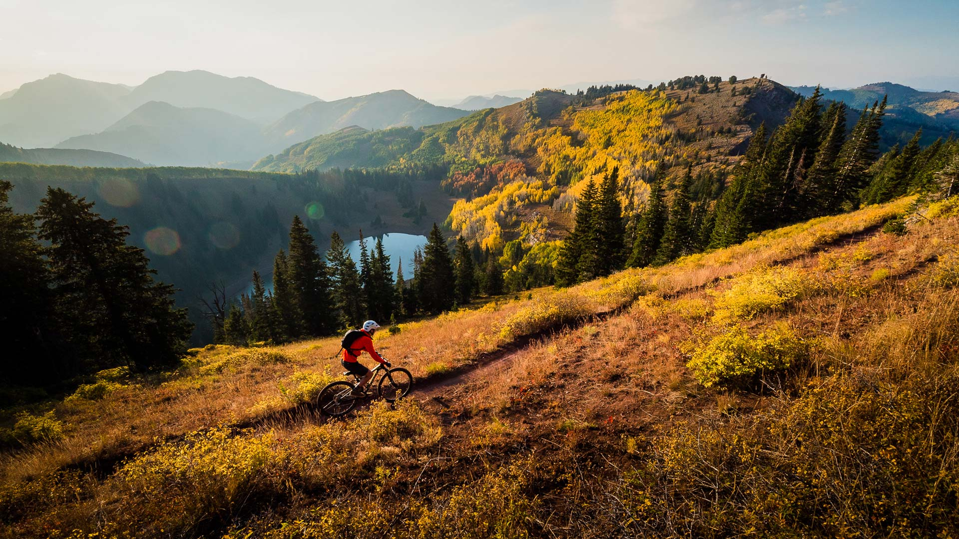 How to take great mountain bike photos - Step one: Find a rad subject and put it in front of a rad background.
