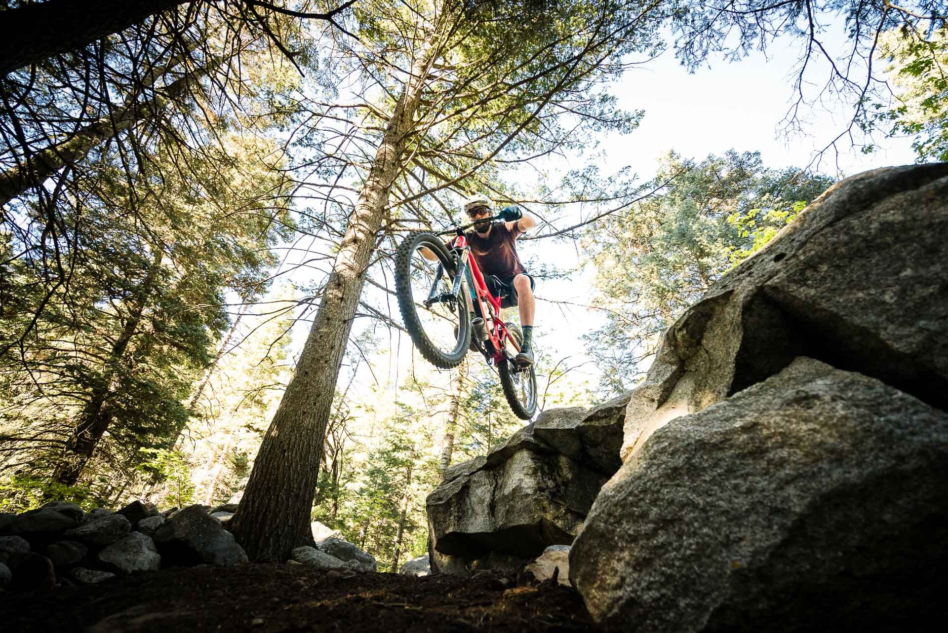 The Ibis Mojo 3 - a jack of all trades.