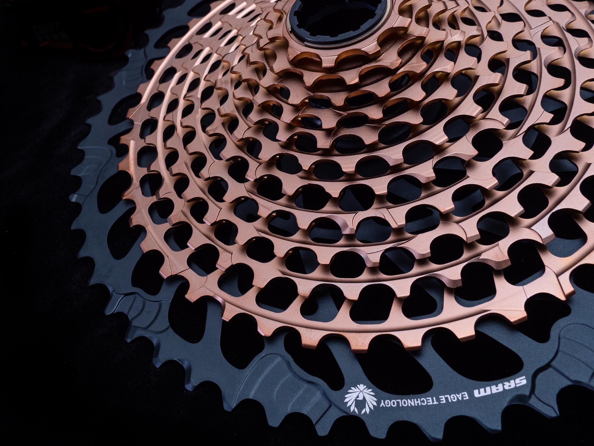 SRAM's gorgeous, lightweight, and highly durable XX1 rear cassette saves more weight over a GX cassette than going from a GX AXS derailleur to an XX1 AXS derailleur does, and for less money.