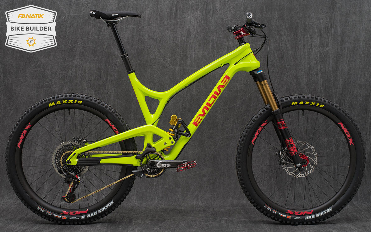 Evil Insurgent Custom Mountain Bike - Ohlins - Fox 36 - Nox Carbon Rims
