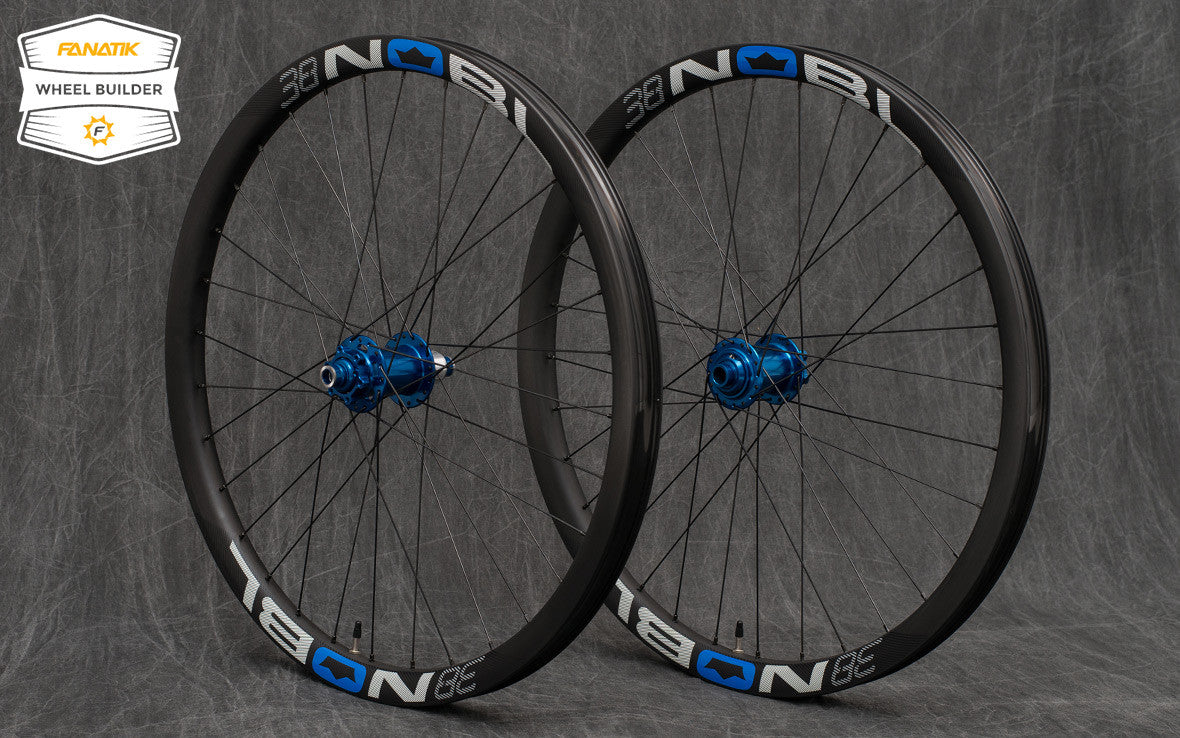 Noble TR 38 Rims - Onyx Hubs - Custom Wheelset