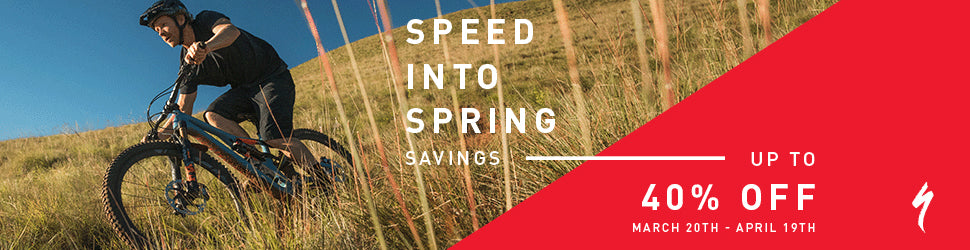 Specialized Speed Into Spring Savings