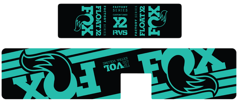 Float X2 Decal Kit / Matte Finish