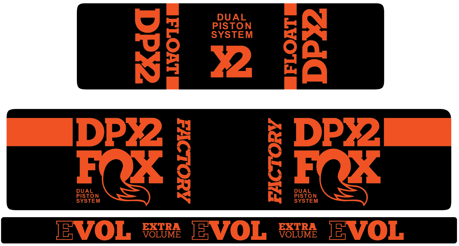 Float dpx2 decal kit matte finish