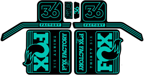 36 Float Decal Set